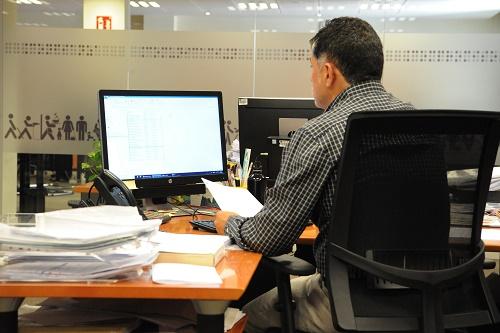 Trabajador del Grupo Social ONCE