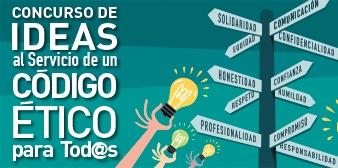 Cartel del Concurso de Ideas sobre el Código Ético 2017