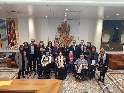 Delegación de la FCM en el Senado