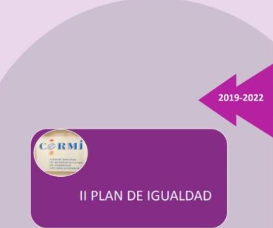 Cartel de II Plan de Igualdad