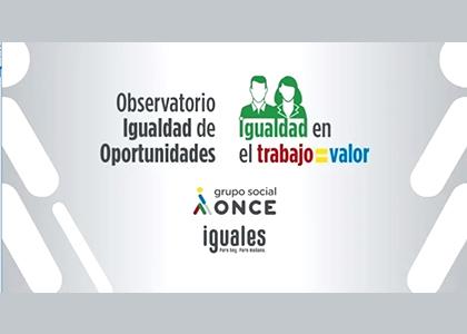 """Cartel del Seminario """"Igualdad en el trabajo e igual valor"""""""