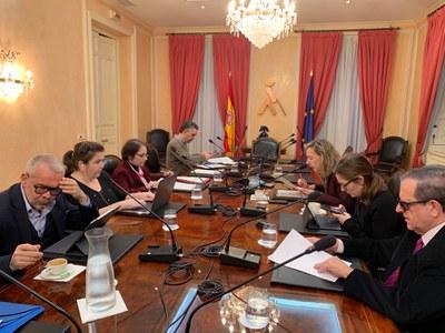 Reunión del Pleno del Observatorio, el pasado 19 de febrero