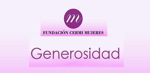 Logo del boletín Generosidad de la FCM