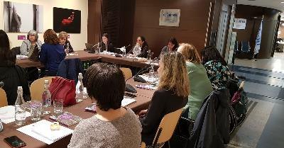 Momento de la reunión del Consejo de Participación de la FCM
