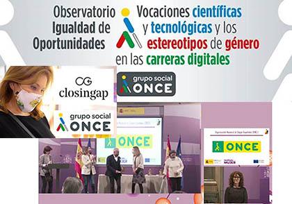 Collage con varias de las acciones llevadas a cabo por el Observatorio de Igualdad de Oportunidades