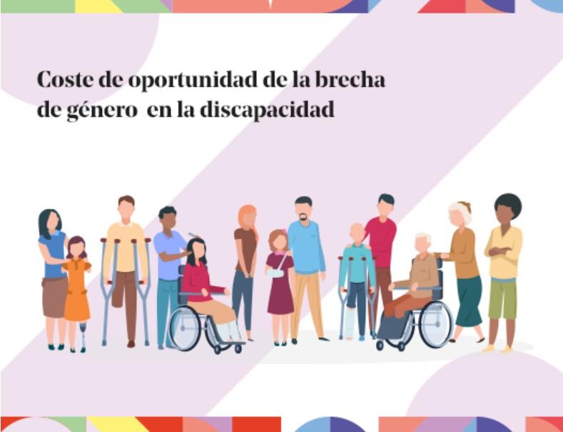 Portada informe coste de oportunidad de la brecha de género en la discapacidad