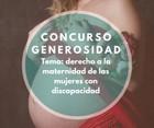 Cartel del III concurso de fotografía Generosidad
