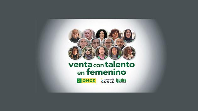 Cartel de la campaña Venta con Talento en Femenino