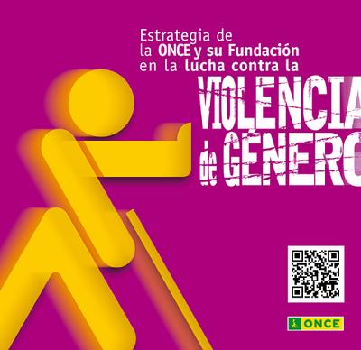 Foto portada folleto 'Estrategia del Grupo Social ONCE en la lucha contra la violencia de género'