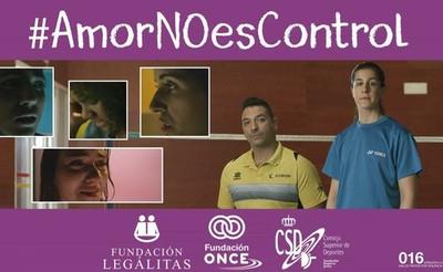 Foto de la campaña Amor no es control