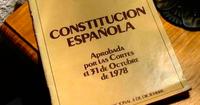 Una de las ediciones de la Constitución Española del año 1978