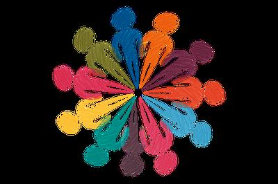 Símbolo conjunto de ONGs