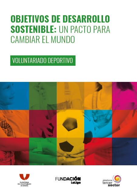 Portada de la Guía sobre voluntarido y deporte