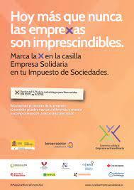 Imagen de la campaña empresas solidarias