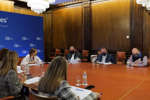 Reunión de la Junta Directiva de a PTS