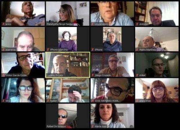 Reunión telemática del Comité Territorial de la PTS