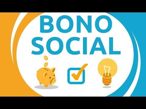 Logo y gráfica alusiva al Bono Social Eléctrico