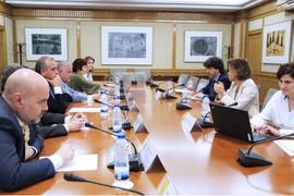 Reunión entre representantes del Tercer Sector y representantes de varios ministerios