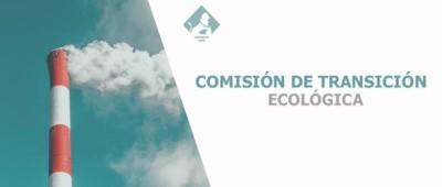 Logo comisión transición ecológica
