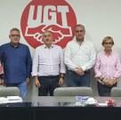 Representantes de UGT y del Tercer Sector