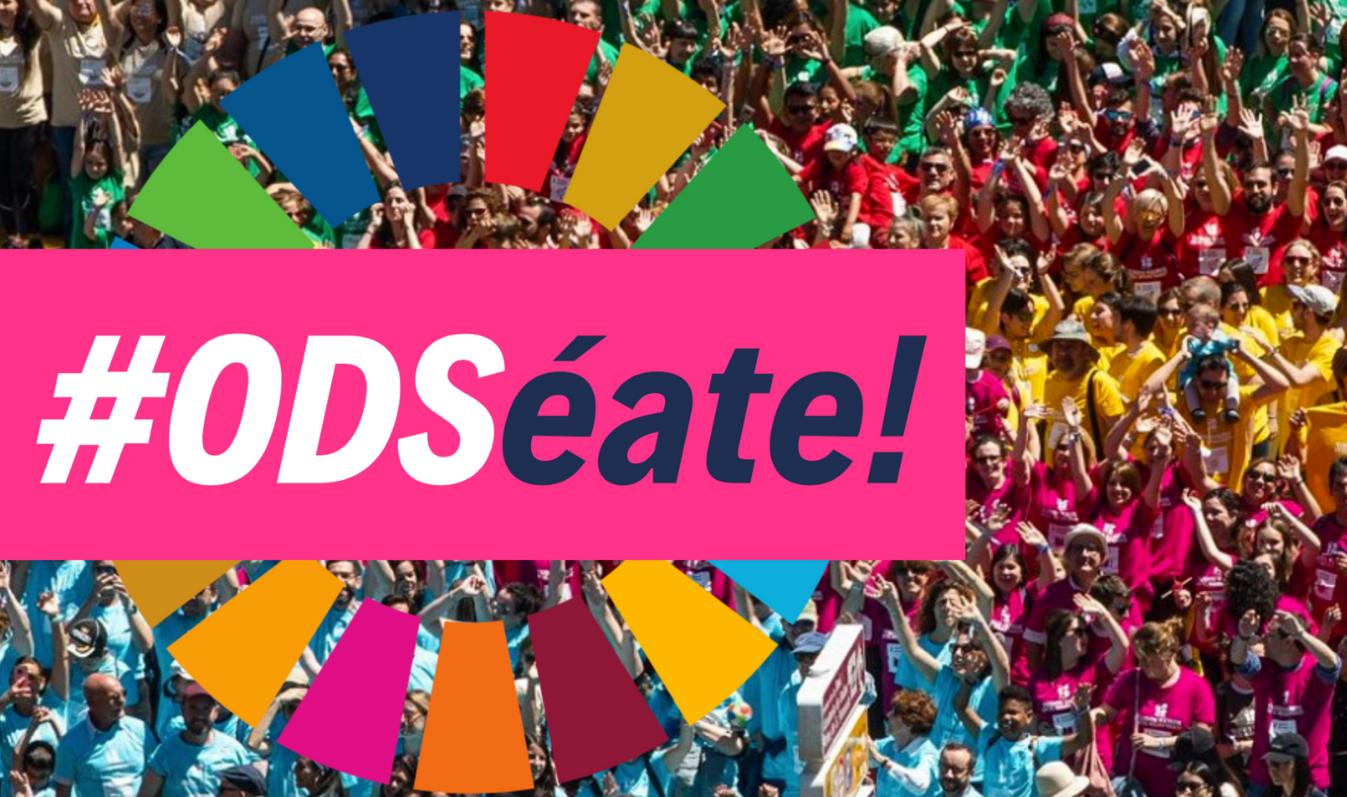 Logo de la campaña ODSéate