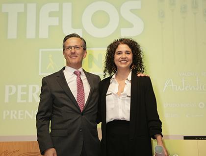 Entrega Premio Tiflos de Prensa Escrita 2019