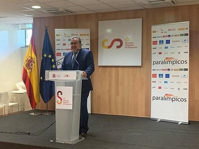 Miguel Carballeda, durante su intervención
