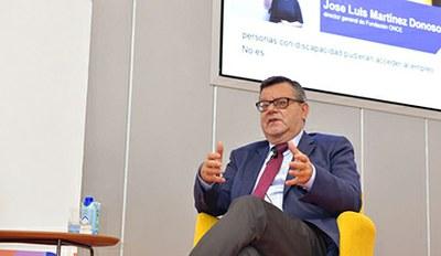 José Luis Martínez Donoso, director general de Fundación ONCE