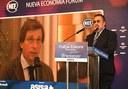 El alcalde de Madrid, José Luis Martínez Almeida, da la bienvenida a la Cumbre Mundial de la Ceguera