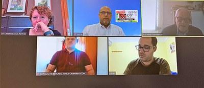 Presentación telemática del cupón dedicado al 175 aniversario de la Sociedad Filarmónica de Las Palmas de Gran Canaria