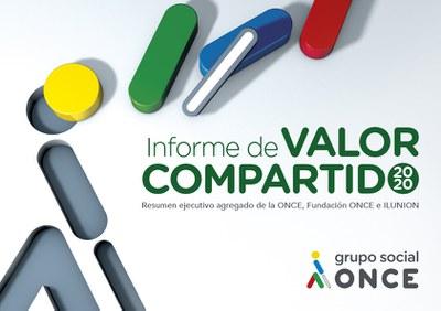 Portada Informe de Valor Compartido Grupo Social ONCE 2020