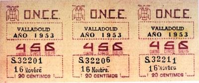 Cupón de 1953