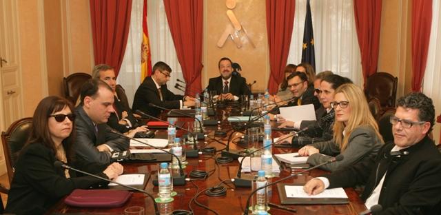Reunión constitutiva del Consejo General de la ONCE (2015)