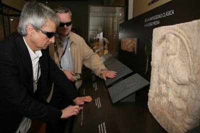 Accesibilidad en el Museo Arqueológico