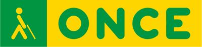Logotipo de la ONCE. Por la inclusión de personas ciegas y con discapacidad.