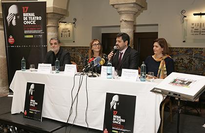 De izda. a drcha. Esteve Ferrer, Toni Álvarez, Fernando Iglesias y Mª José Sánchez