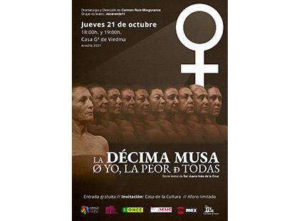 Cartel de la actuación de Jacaranda11 en Armilla