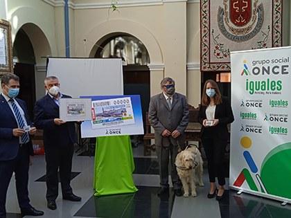 Presentación del cupón dedicado al gentilicio de Guadix