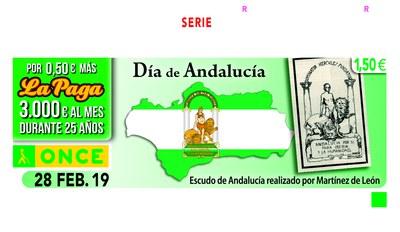 Cupón Día de Andalucía