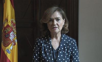 Intervención de Carmen Calvo