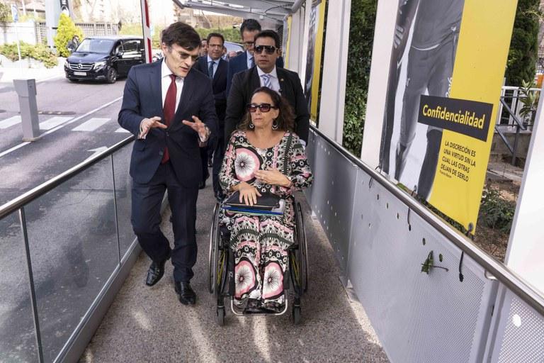 Alberto Durán y Gabriela Michetti