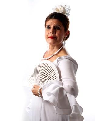 La actriz Manuela Aguilar