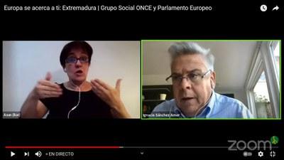 Intervención del eurodiputado por Extremadura, Nacho Sánchez Amor
