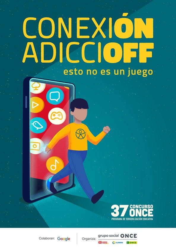 Cartel del 37 concurso escolar del Grupo Social ONCE