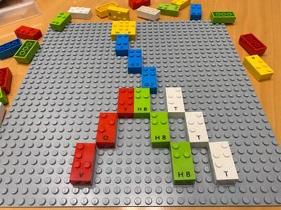 Piezas de LEGO Braille