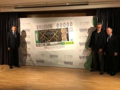 Presentación cupón dedicado a los Premios Goya