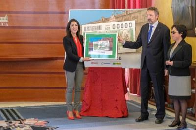 Presentación cupón dedicado al Día de Andalucía