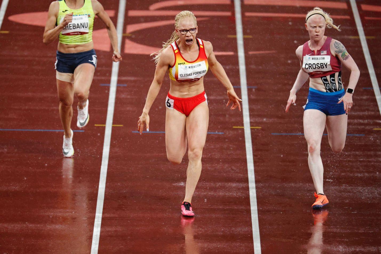 Adiaratou Iglesias esprinta hasta el oro en los 100 metros de Tokio 2020