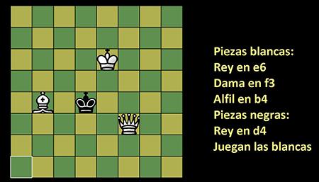Imagen de una partida de ajedrez virtual