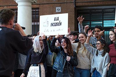 Actuación de Arkano en el Colegio Salesianos de Atocha (Madrid)